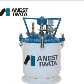 正品日本岩田压力桶PT-40DM岩田40升自动搅拌压力桶