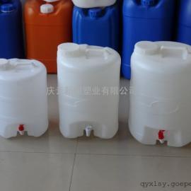 带阀门19升塑料桶,19L塑料桶,19公斤塑料桶供应