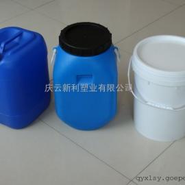 开口方25公斤塑料桶,25KG塑料桶,大口25升塑料桶