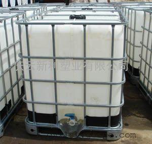 带架子1000公斤塑料桶,吨桶供应