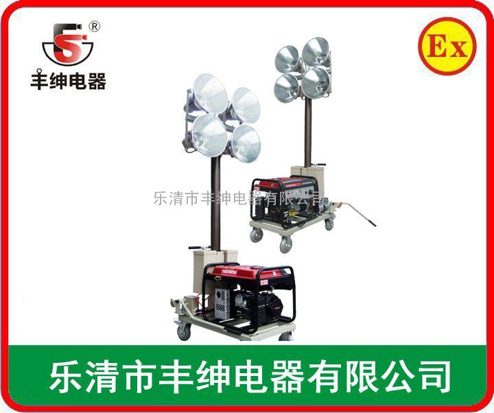 SFD6000Y移动照明灯塔 燃油发电照明灯塔