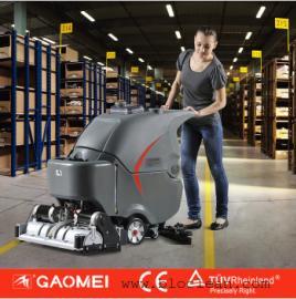 操场塑胶跑道清洗洗地机,高美扫洗一体机GM-65RBT