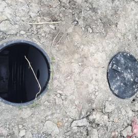 商河1立方一体化三个化粪池1.5吨小型成品化粪池净化池