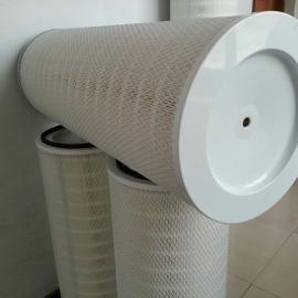 高温除尘滤芯K3290钢厂耐高温滤筒2米除尘滤芯