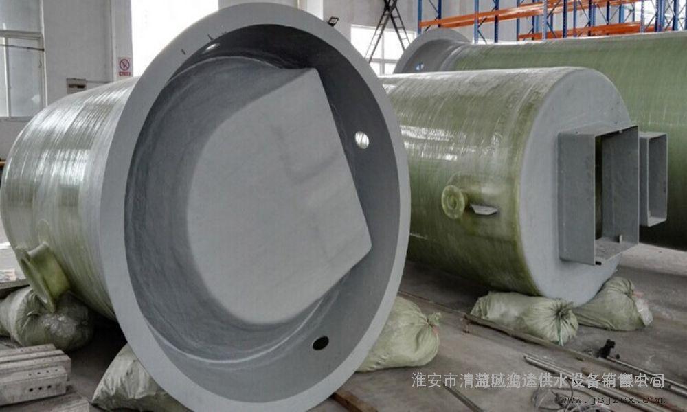 石家庄玻璃钢一体化预制泵站