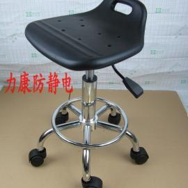 批发防静电凳子 小靠背椅子 PU升降凳子 实验室圆凳