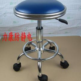 厂家直销防静电凳子 气动升降圆凳 无尘车间员工作业凳