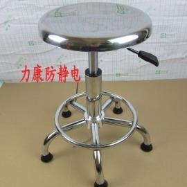 现货批发升降凳子 不锈钢升降凳子 实验室圆凳