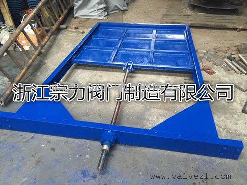 钢制方形闸板阀图片