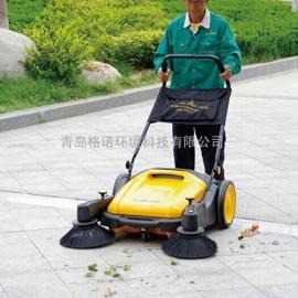 树叶清扫车,手推式无动力扫地机