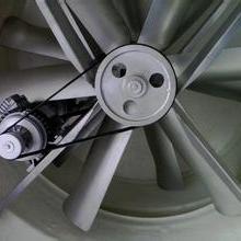 RVC百叶片怎样清洗?WD小型电镀厂通风降温设备工业风扇
