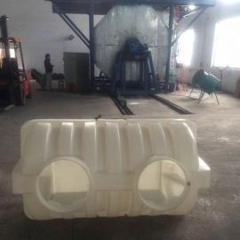 盐城1立方聚乙烯化粪池1.5吨三格化粪池滚塑耐酸碱化粪池