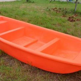 直销潜江2.5米滚塑渔船双层塑料船打捞船