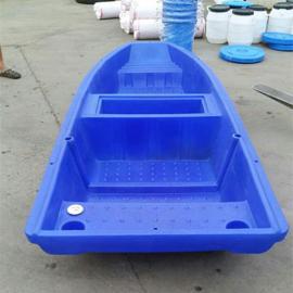 九江小型家用塑料渔船打捞船2.5米滚塑养殖船厂家直销