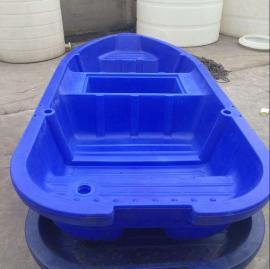 厂家直销4米塑料渔船一体化滚塑打鱼船河道清理船