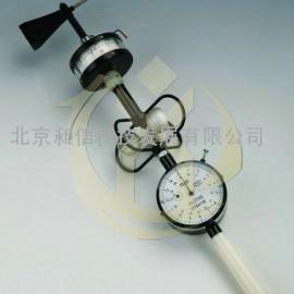 手持式轻便三杯风向风速表,机械式风速风向观测仪