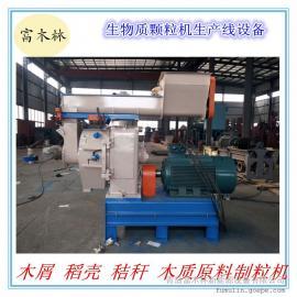 椰树壳 秸秆稻壳制粒设备及生产线 青岛颗粒生产线设计