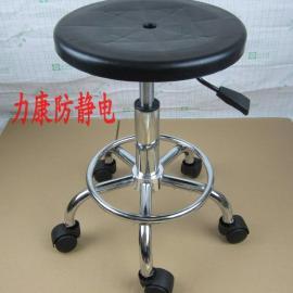 厂家直销升降圆凳 气压升降凳子 工厂员工凳 无尘车间作业凳