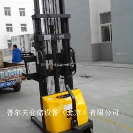 西林半电动堆高车 电动升高车 电动堆高机 1吨3M