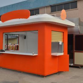 大卡司奶茶亭 奶茶售货亭制作