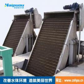 供应海普欧旋转式细格栅拦污除渣污水处理设备工艺特点