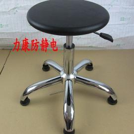 现货供应江浙沪凳子 无尘车间员工圆凳 实验室升降凳子
