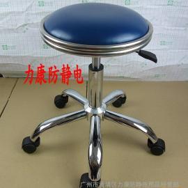 厂家批发高品质防静电皮革凳子 流水线作业凳 实验室凳