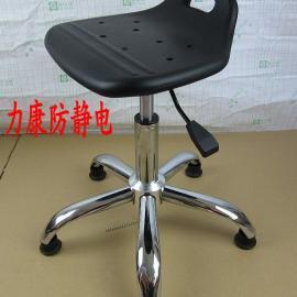 供应PU小拉手椅子 防静电小靠背椅 流水线作业凳 升降圆凳