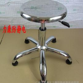 现货批发不锈钢凳子 加厚不锈钢圆凳 门市圆凳 结实耐用