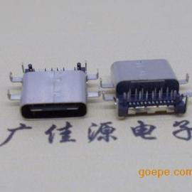 批发新品推出USB 3.1Type-C型口正反插母座