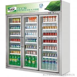 供应便利店保鲜柜 雅绅宝冷柜 饮料展示柜 冰柜型号