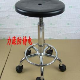 防静电凳子 防静电注塑升降圆凳无尘车间工作椅职员椅
