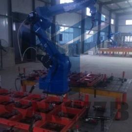 铝模板焊接柔性工装夹具,铝模板机器人焊接工作站,铝模板夹具