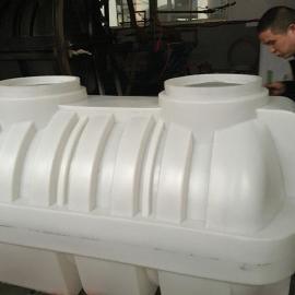 宿迁1立方三格污水净化池1.5吨小型家用化粪池环保工艺