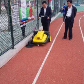 体育场地用手推式吸尘电动扫地机,塑胶跑道用无尘清扫车