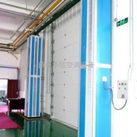 侧吹式空气幕 地铁机务段车间大门口专用侧吹型热水风幕机厂家