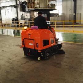工厂仓库用艾隆AL-V2驾驶式无尘清扫车,车间用吸尘扫地机