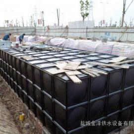 PDF材质地埋式箱泵一体化预埋消防水箱(消防水池)