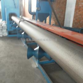 小型钢管抛丸机_钢管抛丸除锈机内壁喷砂机。