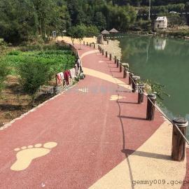 供应YUZ苏州彩色透水路面材料/吴江生态透水地坪施工