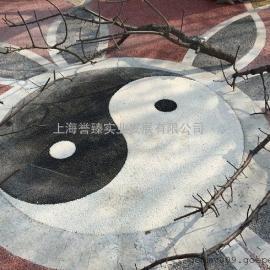 批发供应YG杭州透水混凝土千岛湖彩色透水地坪施工队