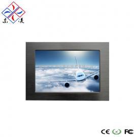 7寸定制型X86架构WIN7/XP系统工业电脑