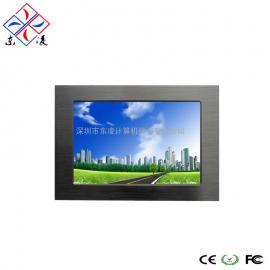 7寸X86架构WIN7/XP系统工业一体机支持CAN