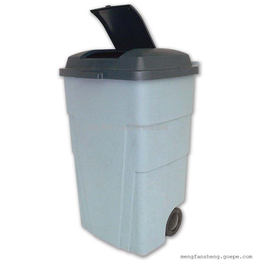 塑料垃圾桶 > 240升塑料户外垃圾桶