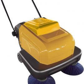 无锡工厂用扫地机|手推式双刷电瓶扫地机