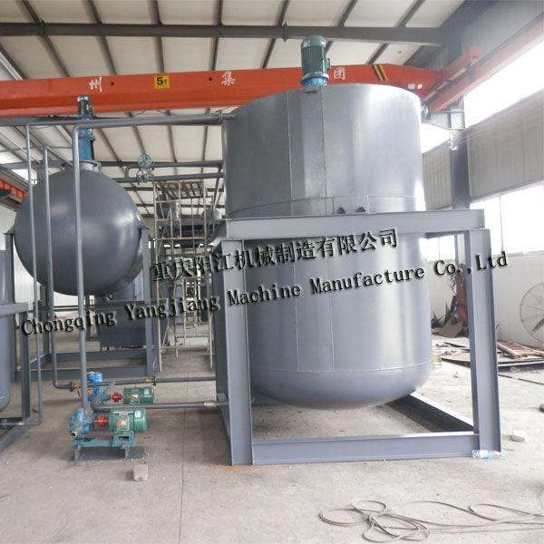 HW08类废矿物油处理设备