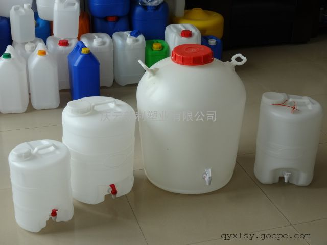 75公斤塑料桶,75L塑料桶,带水龙头75KG塑料桶