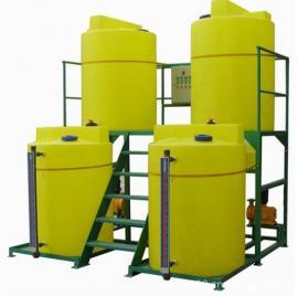 青海 水处理加药装置 塑料药剂桶来图订做