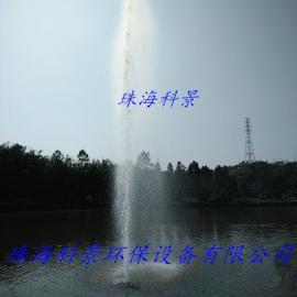 河流水处理增氧景观喷泉曝气机