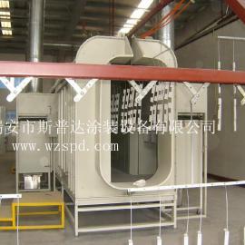 丽水锌钢铝材喷粉喷塑生产线流水线 .青田自动化喷粉房